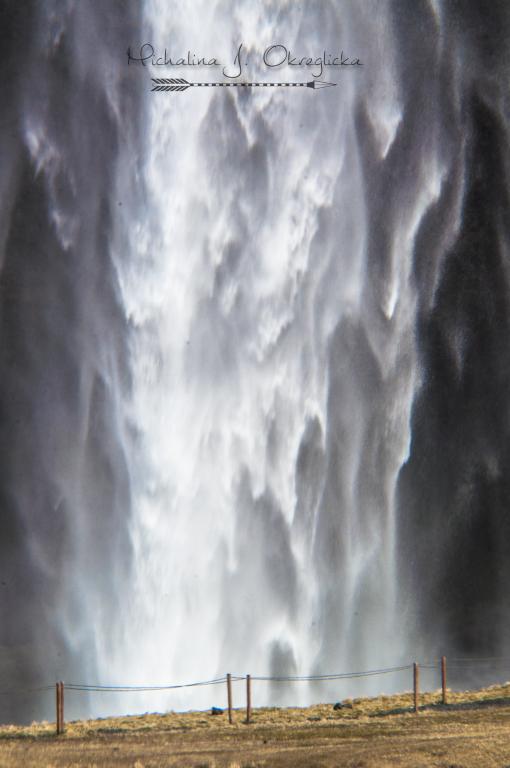 Waterfall Skogafoss Iceland
